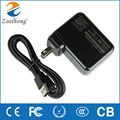 13W AC Laptop power adapter charger for Microsoft Surface3 factory direct high quality 5.2V 2.5A