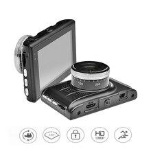 2016 coche dvr cámara auto dvr dashcam aparcamiento grabadora de vídeo registrator videocámara full hd 1080 p de visión nocturna negro caja dash cam