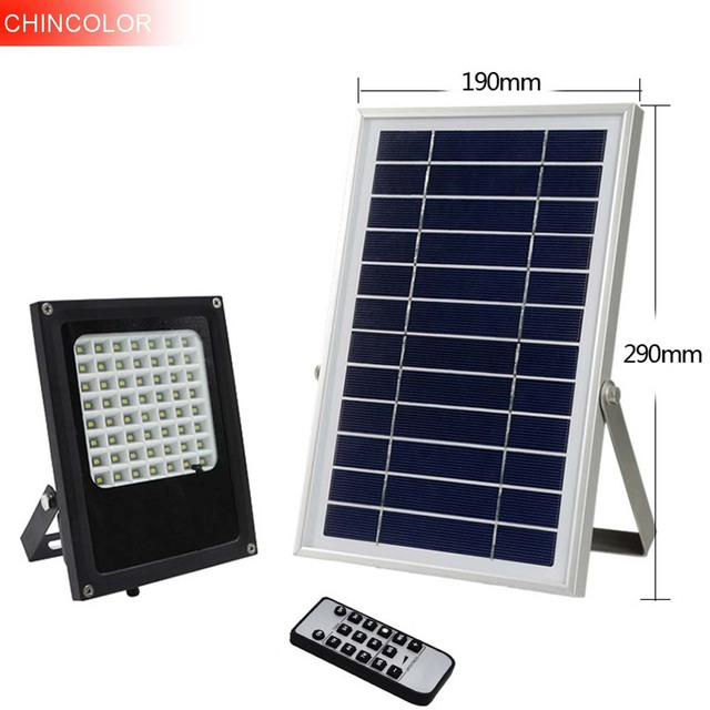 Chincolor solar lamp remote control timing led outdoor wall lamp chincolor solar lamp remote control timing led outdoor wall lamp flood light solar garden light waterproof mozeypictures Gallery