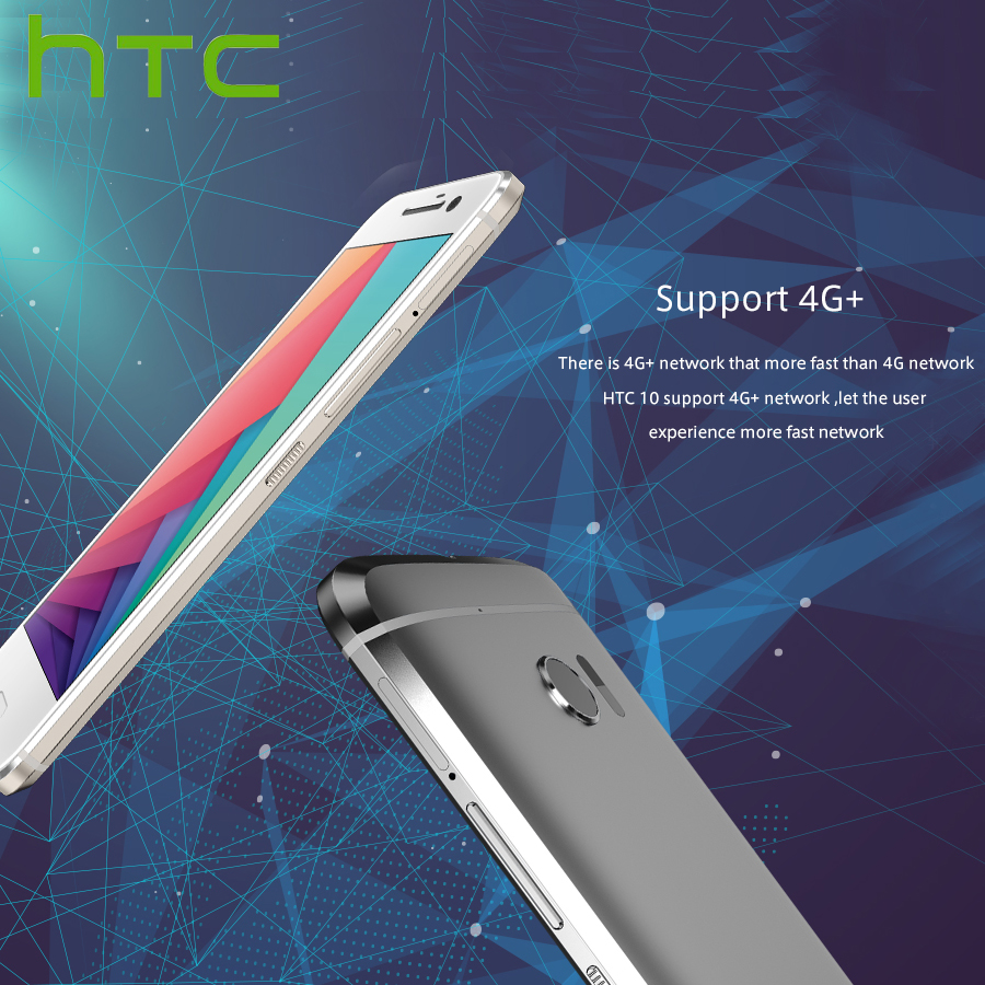 "Image 5 - Original HTC 10 M10H 4G Mobile Phone 5.2""1440x2560p 4GB RAM 64GB ROM Snapdragona820 QuadCore 12MP Android Smartphone Google Play-in Cellphones from Cellphones & Telecommunications"