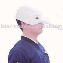 Hot Sale Popular design of party face mask High Quality Latex Long Nose Mask
