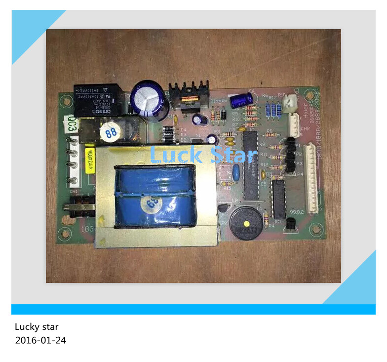 95% new for Haier refrigerator computer board circuit board BCD-188B/208B 06020085 driver board good working 95% new used for refrigerator computer board 06020085 06020103 good working