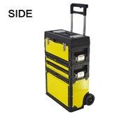 Бесплатная доставка 3 в 1 инструменты тележки коробка из листов холодно ролл стали + ABS