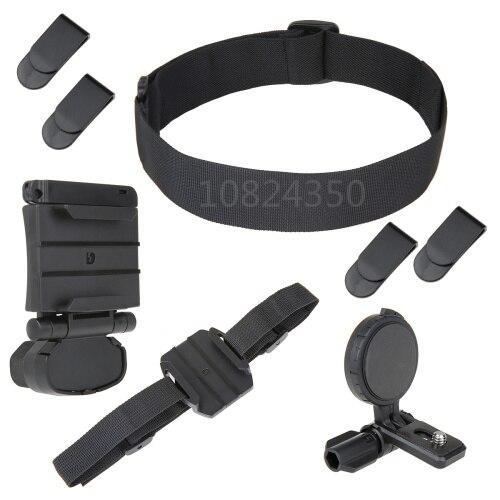 Cabeza de casco Kit de montaje para Sony Action Cam HDR AS15 AS20 AS100V como BLT-UHM1 AS50R AS300R X3000R HDR-AS300 HDR-AS200V HDR-AS100V