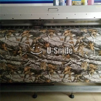 Camouflage Camo Wraps Leaf Realtree Camo Vinyl Sticker Film Decal For SUV TRUCK Jeep 30M/Roll
