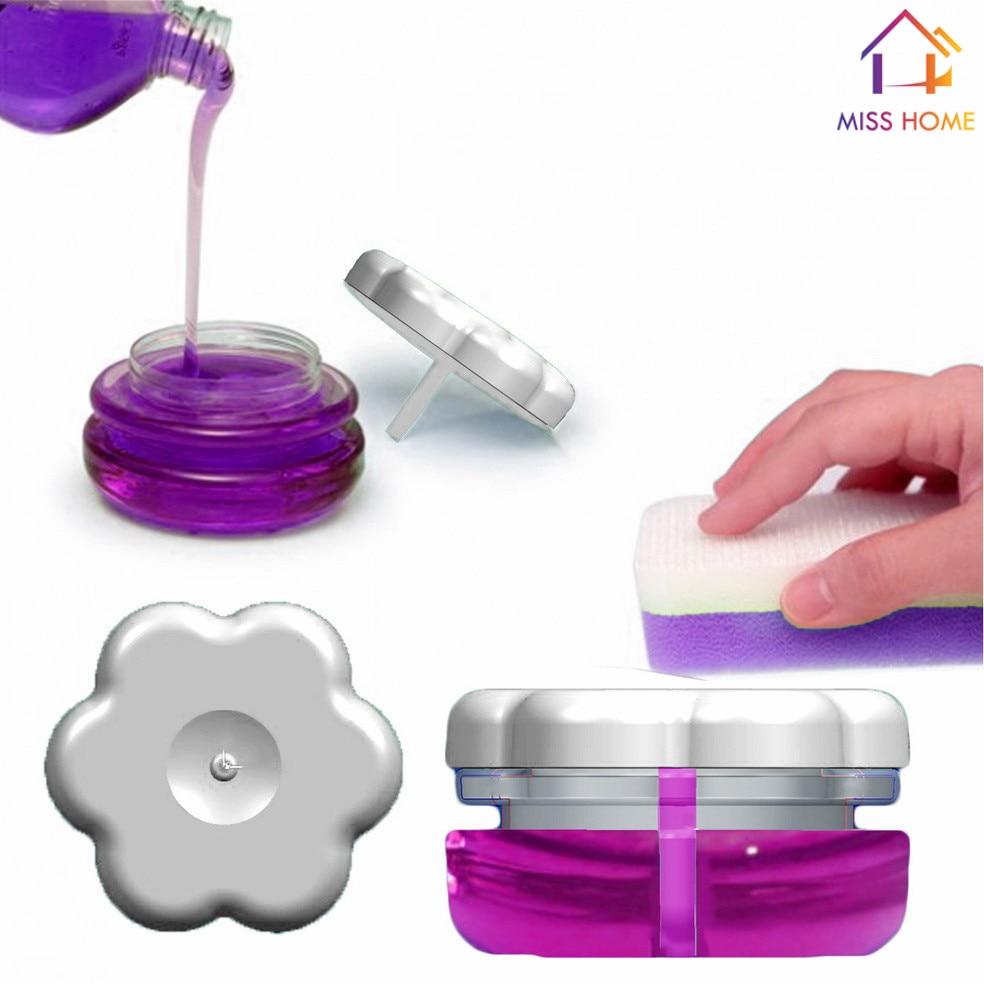 4 pcs/lot) Newest Plastic Soap Dispenser Dishwashing Bottles Kitchen ...
