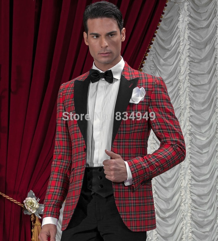 Online Buy Wholesale tartan suit from China tartan suit ...