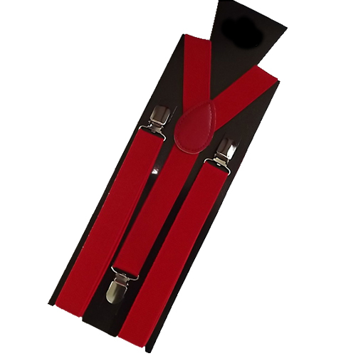 New Mens Womens Unisex Clip-on Suspenders Elastic Y-Shape Adjustable Braces Retail/Wholesale  54QB