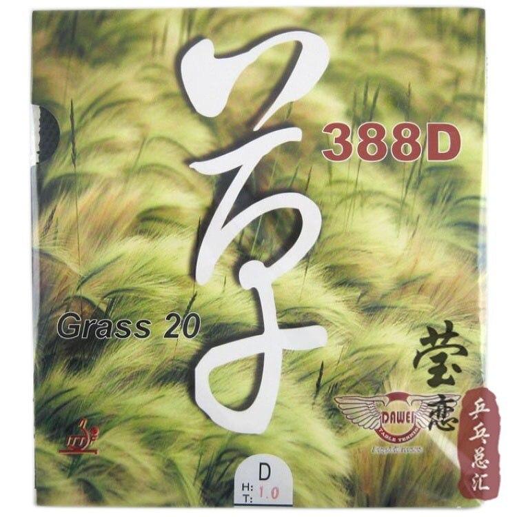Original dawei 388D GRASS 20 long pimples table tennis rubber with sponge table tennis racket racquet sports