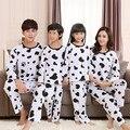 Новое семейство соответствующие наряды одежда мать отец дочь набор девушки парни пижамы наборы хлопок семья пижамы одежда