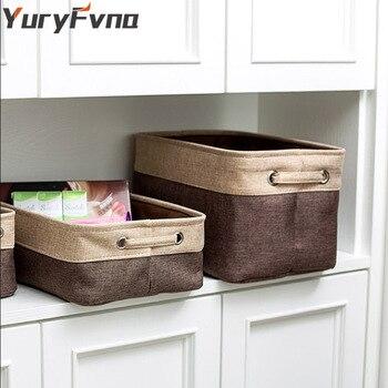 0d7ffd94187 YuryFvna tela plegable de almacenamiento Bin