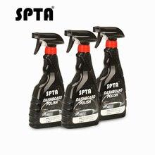 SPTA 500 ML Cruscotto Polish Cera Interni Difesa Auto Dashboard Cleaner Strumento di Manutenzione Per La Protezione UV A Spruzzo Cura dell'auto