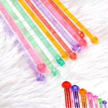 Указал вязания спицы пластиковой одноместный шт ручкой мм