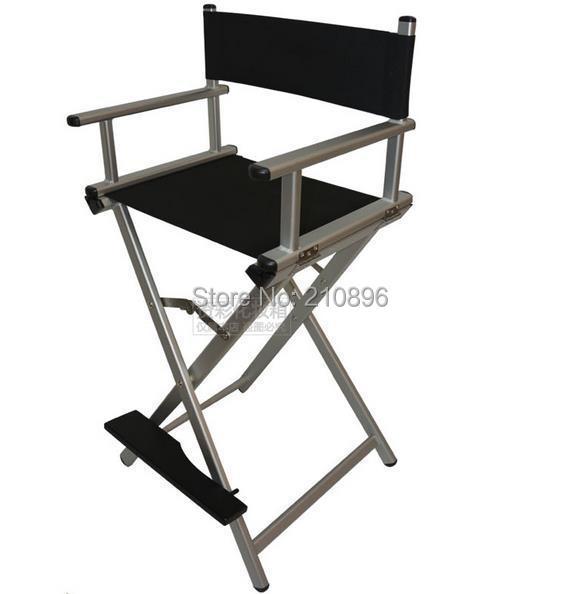 De Portable Directeur Salon Aluninum Pliable Chaise Artiste Coiffure Maquillage qrtErw