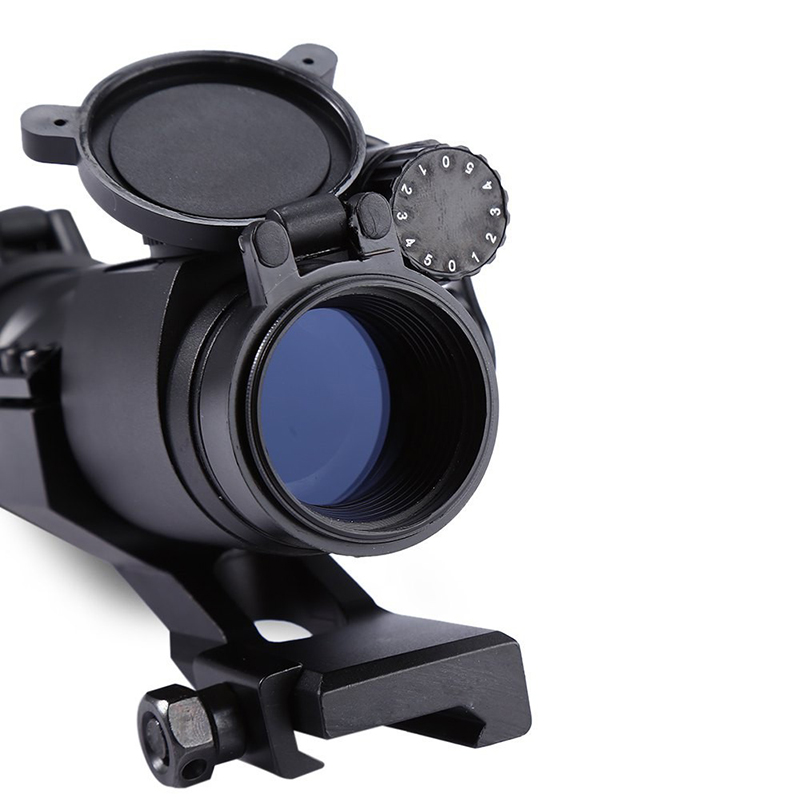 Image 3 - M2 Hunting Riflescope Reflex Red Green Dot Scope Aiming Sight Laser Gun Sighting Telescope 20mm Rail Mounts for Thermal Imager-in Riflescopes from Sports & Entertainment