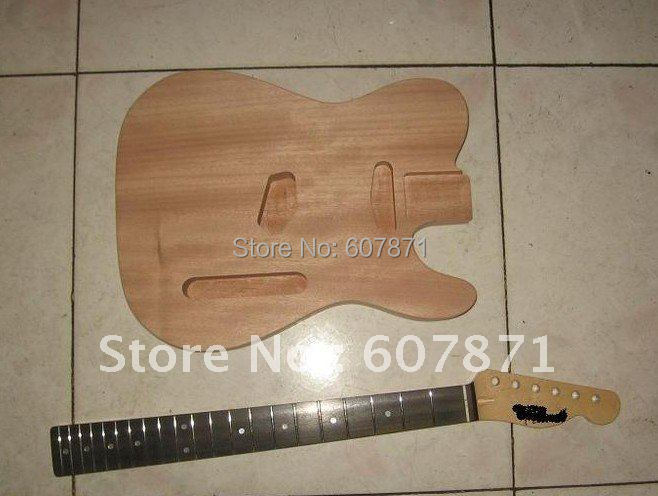 high quality Unfinished electric guitar body with neck brand high quality electric eraser with extra refills