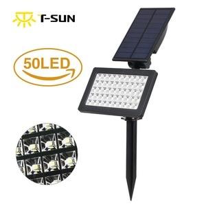 Image 2 - Фонарь Светодиодный настенный, на солнечной батарее, 50 светодиодов