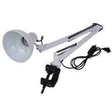 Hot Sale LED Lighting Table Lights White Adjustable Swing Arm Drafting Design Office Studio Clamp Table Desk Lamp Light