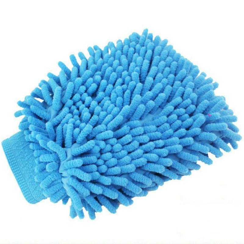 Super Microfiber Car Wash font b Gloves b font Washing Cleaning Anti Scratch car washer font