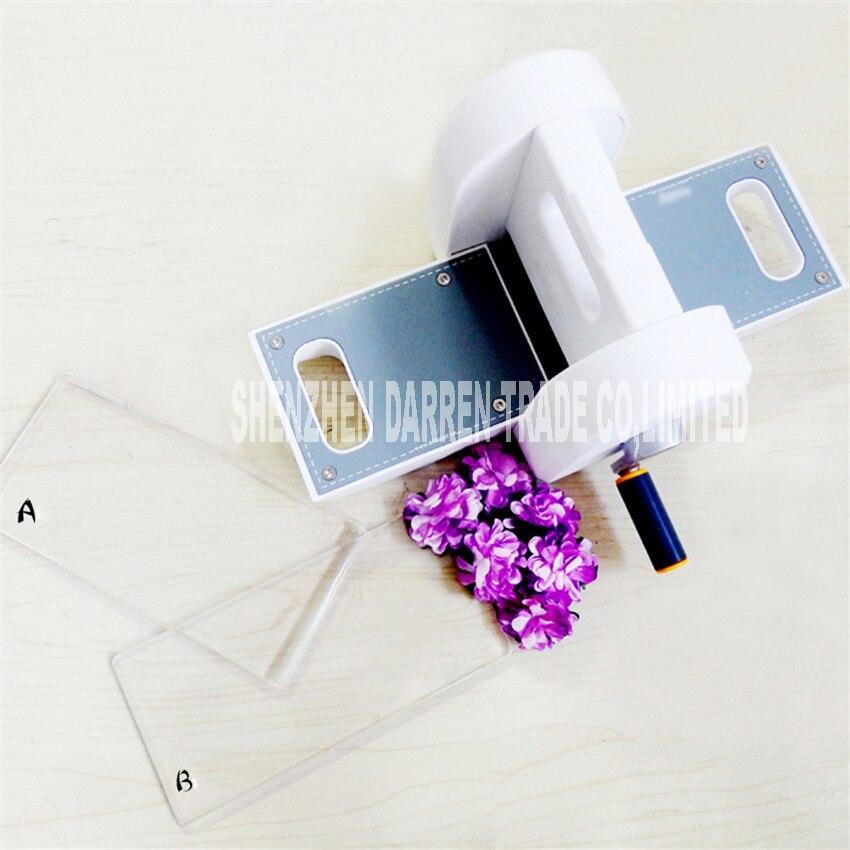 7*15 cm fait à la main machine à papier bricolage cutter modèle de découpe outils nécessaires métal matériel machine de découpe gaufrage