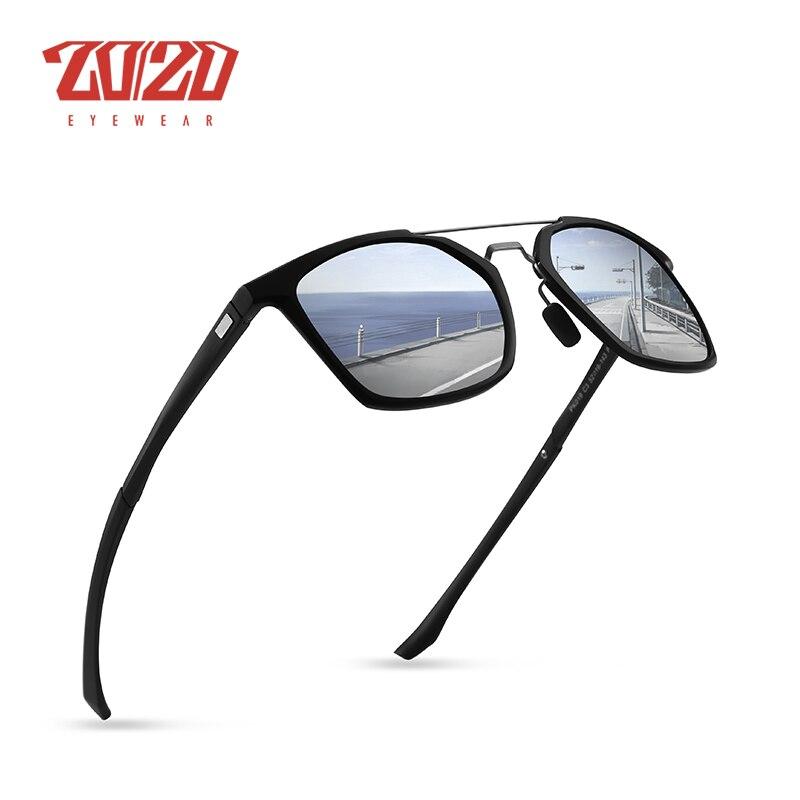 c8509d44a28 20 20 Brand New Unisex Aluminum Polarized Sunglasses Men Design Travel  Driving HD Sun Glasses Classic Male Eyewear Gafas PK019-in Sunglasses from  Apparel ...