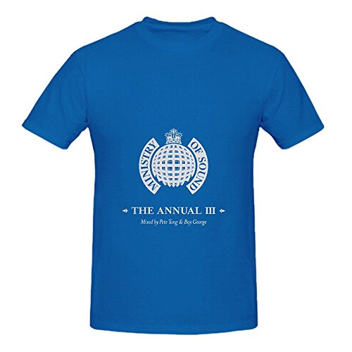 Boy George Ministry Of Sound The Annual Ii Soundtrack Mens Crew Neck Music Tee ...