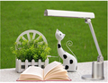 white/blue Eye protected foldable led 11w book lamp ABS flexible reading lamp children study office kid table lamp 1655