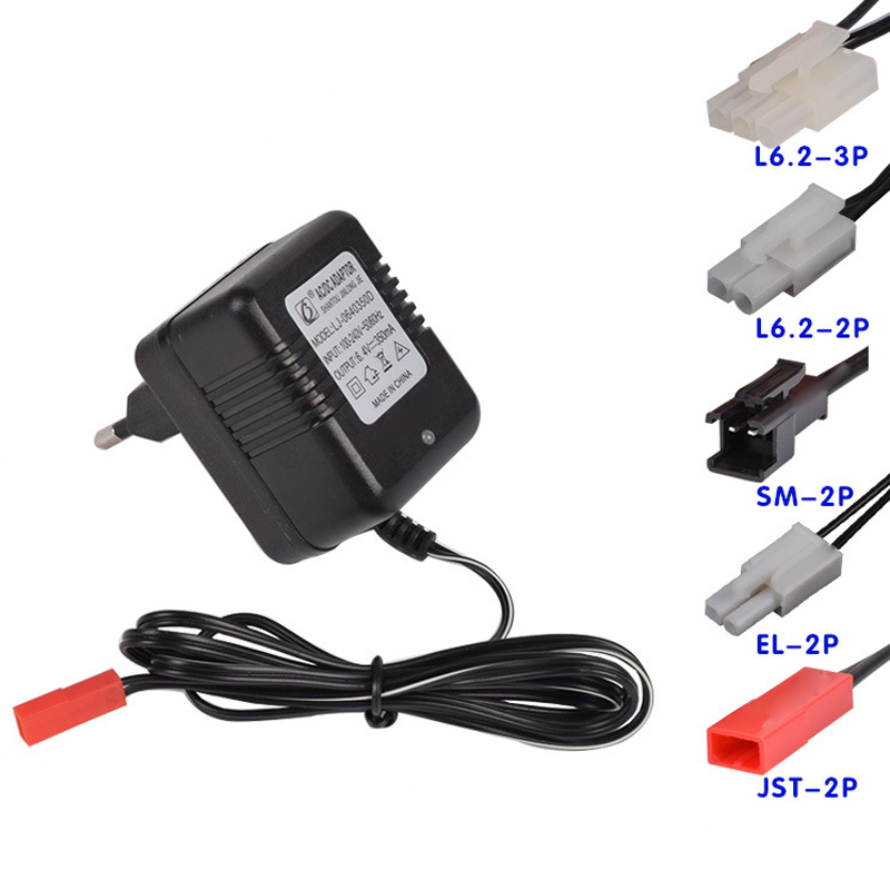 6 4v lipo charger rc toys monster truck spare eu plug battery charger parts el 2p jst 2p l6 2 2p. Black Bedroom Furniture Sets. Home Design Ideas