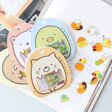 50 unidades/pacote kawaii urso gato diy adesivo pvc adesivos diário decorativo álbum vara etiqueta papel decoração papelaria