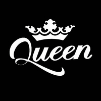 car sticker motorcycle Queen Crown Vehicle Body Window Bumper  Decal Decoration Car Sticker And Decals Motorcycle Car Styling Accessories (5)