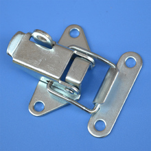 free shipping metal hasp Dovetail buckle luggage lock industrial fastener bag hardware air box tool case equipment