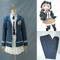 Anime Danganronpa Nanami ChiaKi Cosplay costume Custom Made