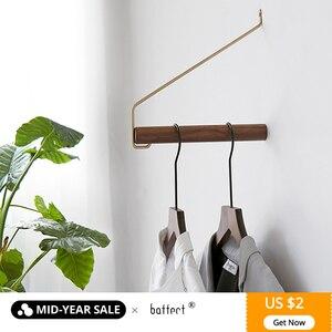 Wooden Coat Hooks Wall Hanger