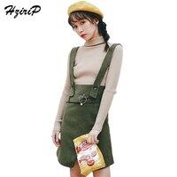 HziriP 2018 Fashion Women Suspender Skirt New Arrival High Quality Elegant Skirt Female A Line Spaghetti