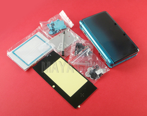 Image 4 - 1set Full Complete Housing Shell case with screen lens for 3DS Case Cover Replacement Repair Parts with Buttons kit+3M sticker
