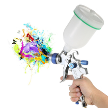 HVLP Air Spray Gun Airbrush Kit Gravity Feed Paint Sprayers Air-Brush sandblaster Auto Car Painting Spot Repair Face Paint