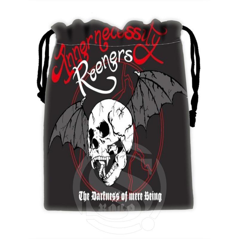 Unique Design Custom Skull #2 Drawstring Bags For Mobile Phone Tablet PC Packaging Gift Bags18X22cm SQ00715-@H0343