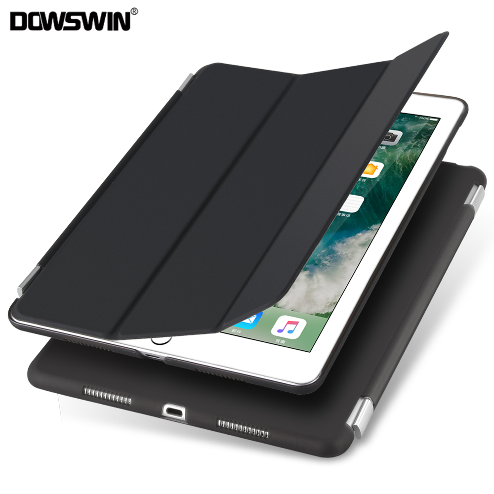 цена DOWSWIN case for ipad air magnetic PU leather Smart Case for ipad air 1, Seperated back cover for ipad A1475 A1476 for ipad 5