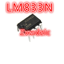 100PCS LM833N DIP8 LM833 DIP new and original 100pcs lot at24c02c dip8 at24c02 dip new and original ic