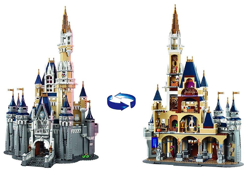 L Models Building toy Compatible with Lego L16008 4160pcs Cinderella Castle Blocks Toys Hobbies For Boys Model Building Kits
