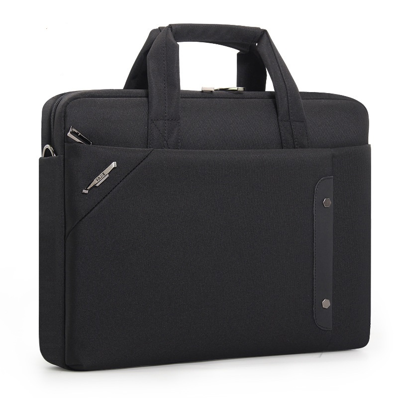 1835 New Fashion Large-Capacity Business Computer Bag Men Breeze Handbag Waterproof Wear-resistant File Oxford Briefcase