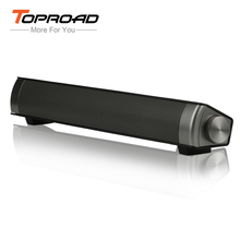 Mini Bluetooth Speaker Soundbar Slim Magnetic Stereo Sound Subwoofer Speaker HIFI Boombox Speakers For Computer PC Tablet TV ETC