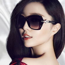 ASUOP 2019 new fashion ladies sunglasses classic retro brand design star oval me