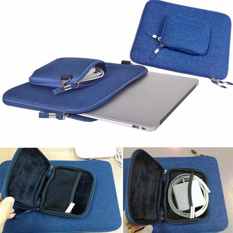 купить 11'' 13'' 15'' Cowboy Pattern Zipper Power Charger Bag Notebook Laptop Sleeve Bag Pouch Case For Macbook Air 11 12 13 Retina Pro недорого