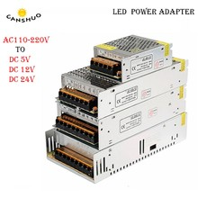AC85-240V to DC5V 12V 24V led strip ight Power Adapter 1.25A 2A 3A 4A 5A 10A 15A 20A 30A 40A 50A 60A Switch adapter Power Supply(China)