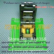 CH-QFP80-0.8 Programmer Adapter TQFP80 QFP80 16.8x22.8 14x20 IC51-0804-819-6 Adapter/IC SOCKET(Flip test seat)
