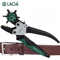 LAOFree Shipping Revolving Leather Canvas Belt Punch Punching Plier Hole