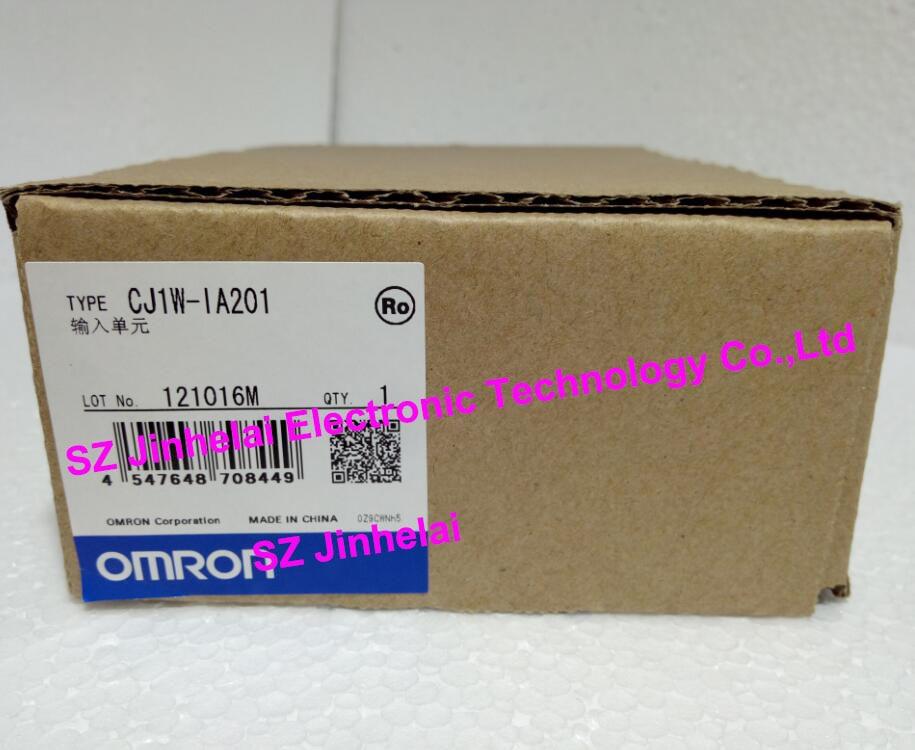 100% New and original CJ1W-IA201 OMRON PLC input unit [zob] 100% new original omron omron proximity switch e2e x10d1 n 2m
