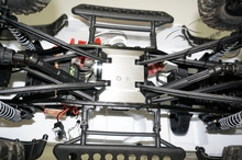 rc car parts,Stainless steel chassis protecting plate for AXIAL SCX10 90035 90047 90037 90037 90021