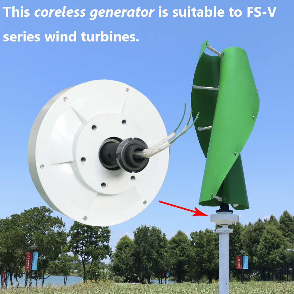 Us 336 0 Vertical 500w 12v 24v 48v Brushless Ac Rare Earth Permanent Magnet Alternative Energy Generator For Diy Wind Turbine In Alternative Energy